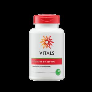 Vitamine B5 250 mg 100 Capsules