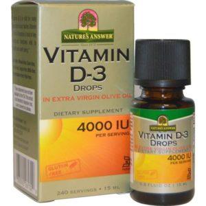Vitamine D3 4000 IU