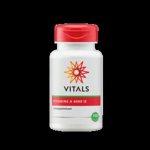 Vitamine A 4000 IE 100 Capsules