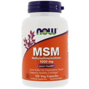 MSM - MethylSulfonylMethane 1000 MG  120 TABLETTEN