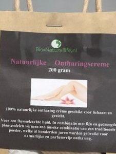 Natuurlijke Ontharingscreme/poeder