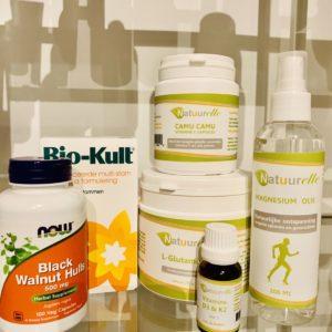 Compleet Darmherstel pakket met camu camu capsules