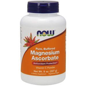 Magnesium ascorbaat poeder (gebufferde vitamine C) 227 gram