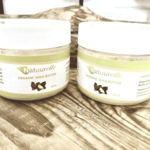 Voordeel set 2 x Raw Organic Shea Butter