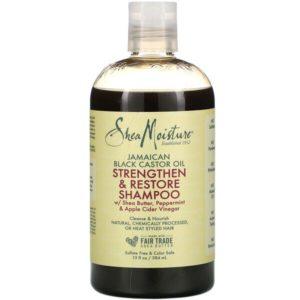 SheaMoisture, Jamaican Black Castor Oil, Strengthen & Restore Shampoo