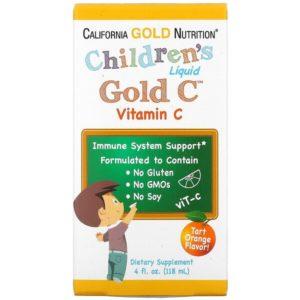 Vitamine C druppels kinderen